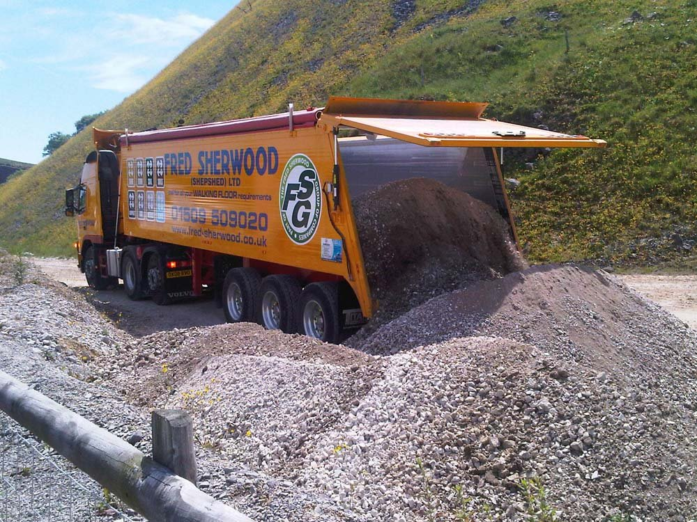 Unloading Aggregate