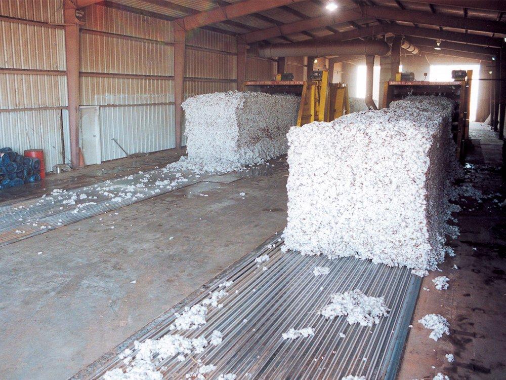 Cotton Stationary Installation