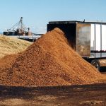 KEITH® WALKING FLOOR® system unloading Cattle Feed